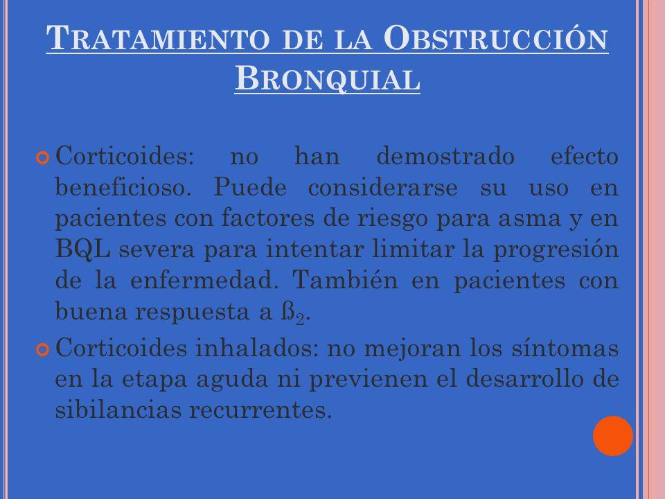 Tratamiento de la Obstrucción Bronquial