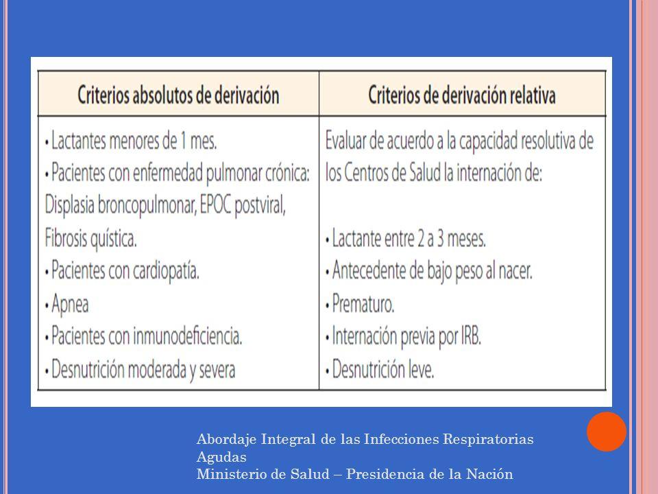 Abordaje Integral de las Infecciones Respiratorias Agudas
