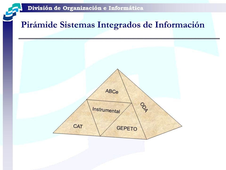 Pirámide Sistemas Integrados de Información
