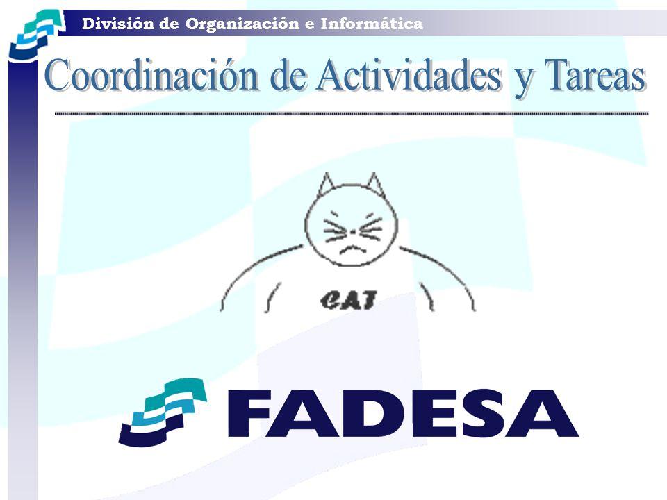 Coordinación de Actividades y Tareas