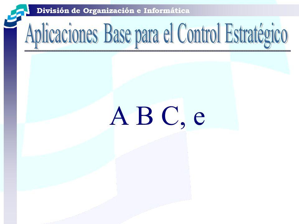 Aplicaciones Base para el Control Estratégico