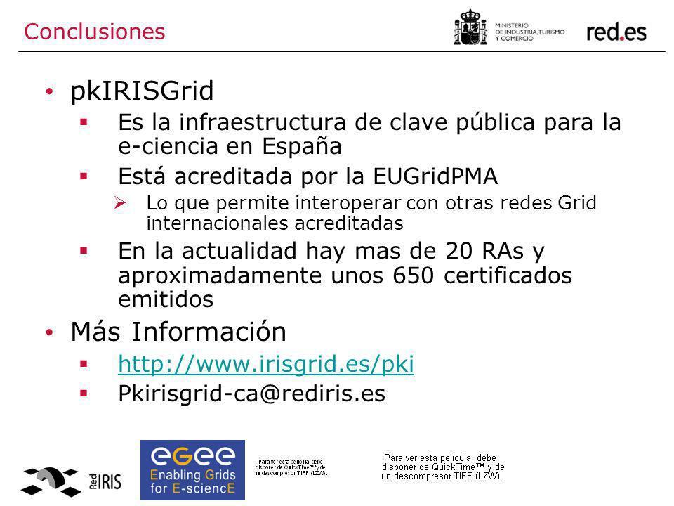 pkIRISGrid Más Información