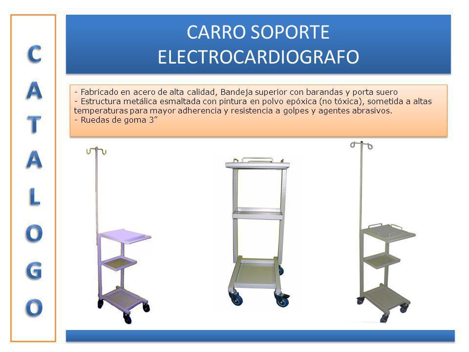 CARRO SOPORTE ELECTROCARDIOGRAFO