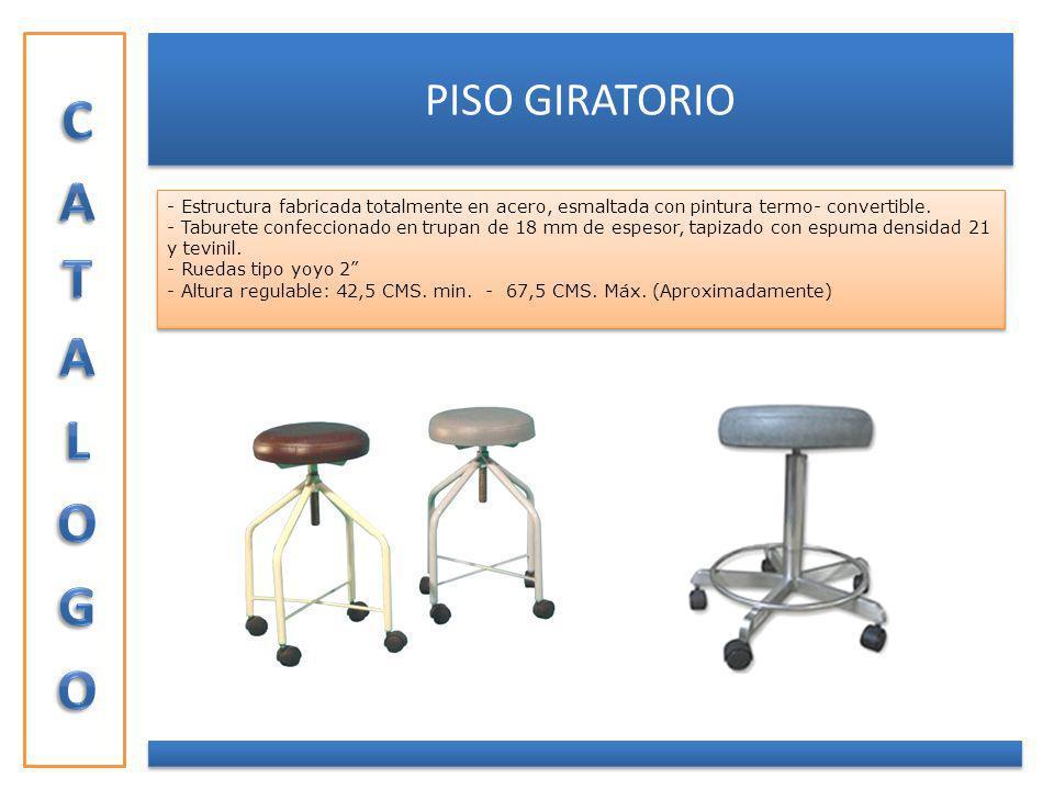 CATALOGO PISO GIRATORIO