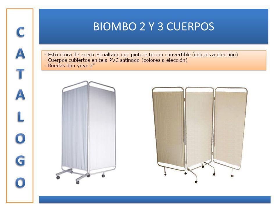 CATALOGO BIOMBO 2 Y 3 CUERPOS
