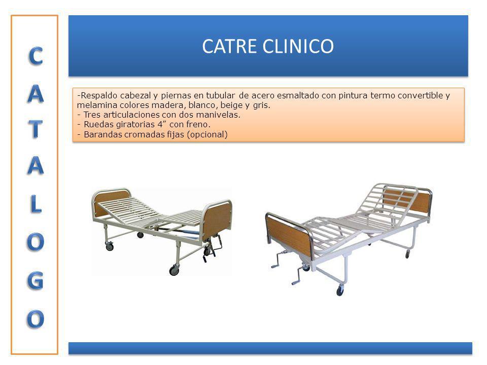 CATALOGO CATRE CLINICO