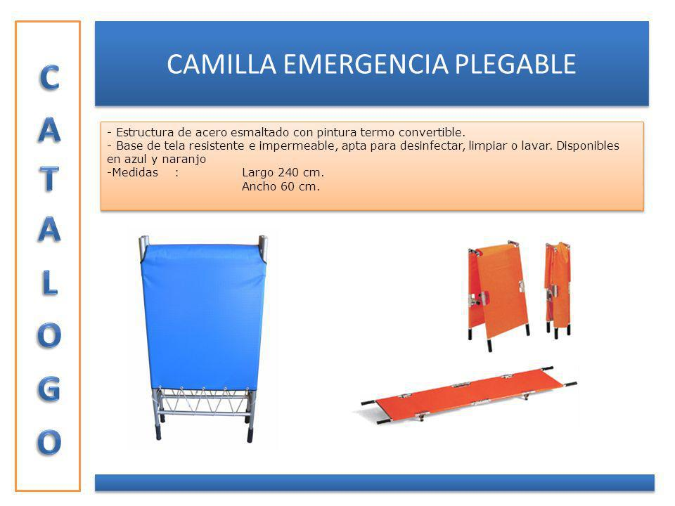 CAMILLA EMERGENCIA PLEGABLE