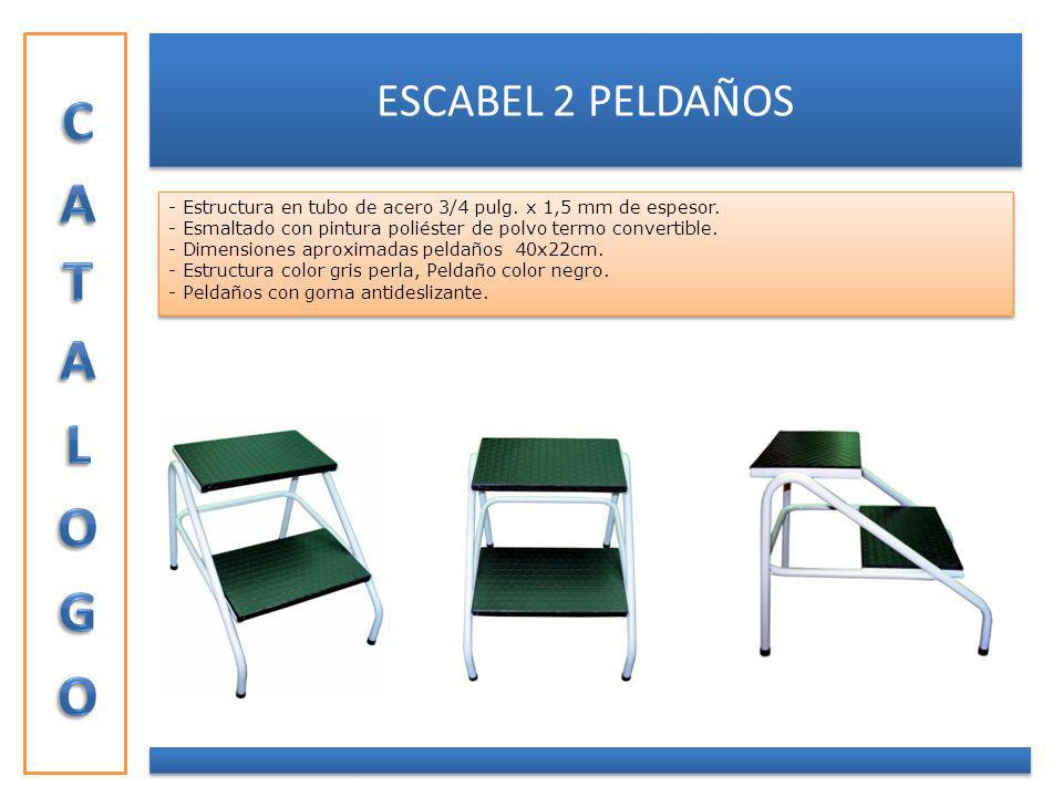 CATALOGO ESCABEL 2 PELDAÑOS
