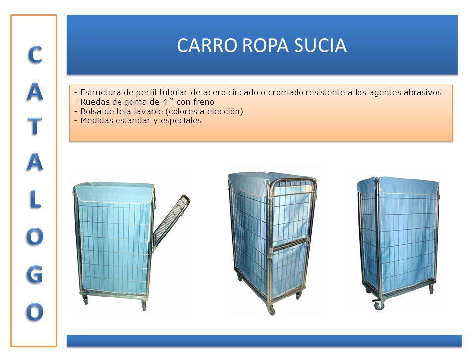 CATALOGO CARRO ROPA SUCIA