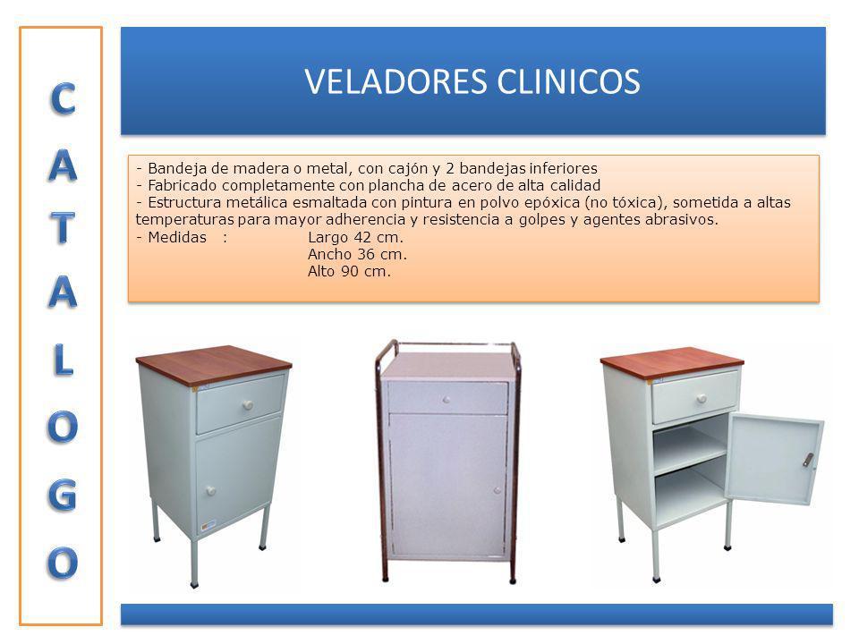 CATALOGO VELADORES CLINICOS