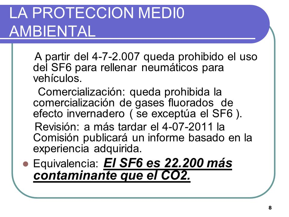LA PROTECCION MEDI0 AMBIENTAL