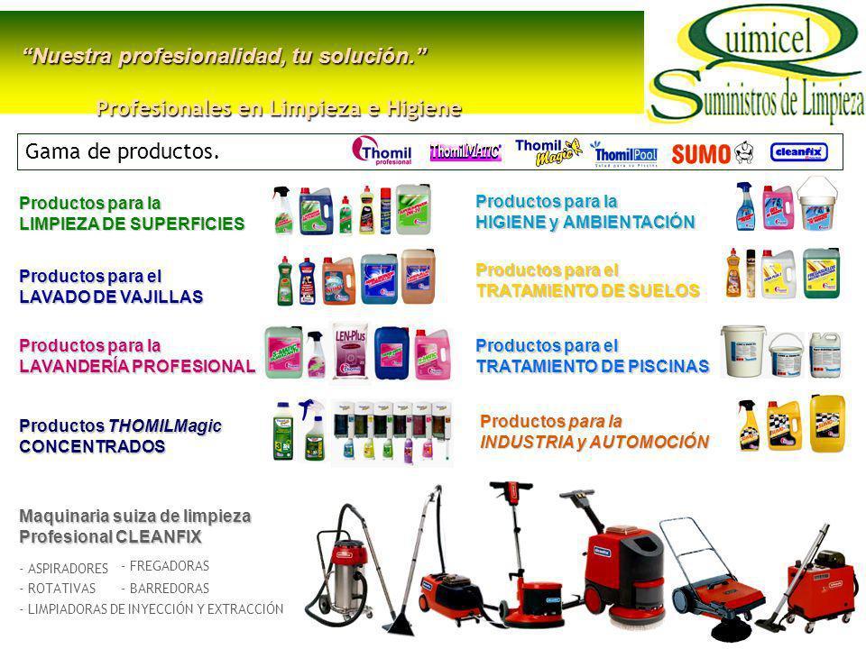 Profesionales en Limpieza e Higiene