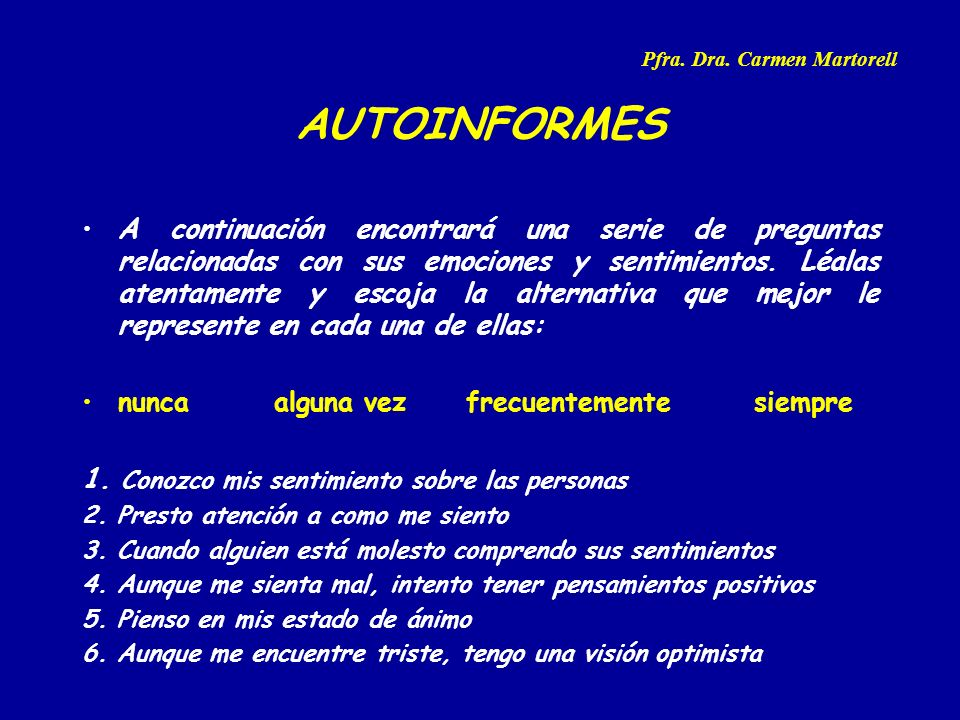 Pfra. Dra. Carmen Martorell