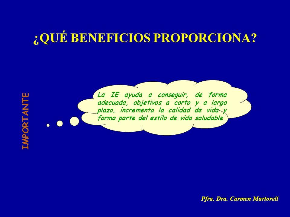¿QUÉ BENEFICIOS PROPORCIONA