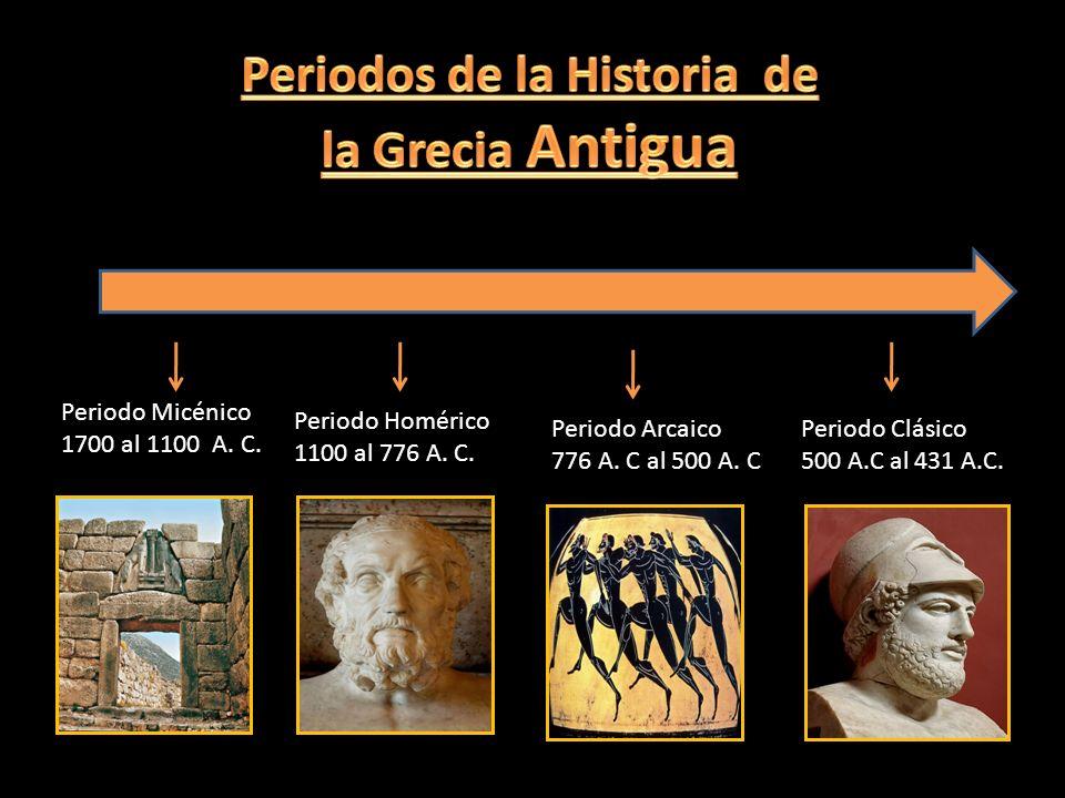 Periodos de la Historia de la Grecia Antigua