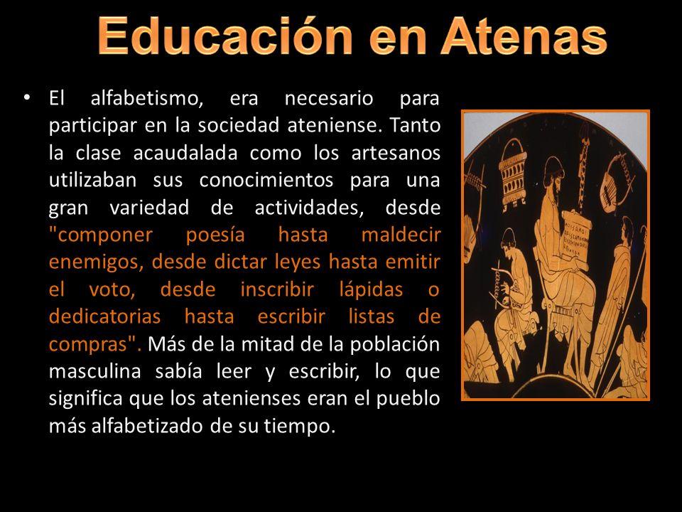 Educación en Atenas educación