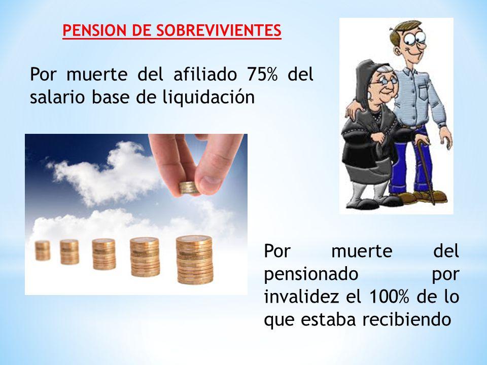 PENSION DE SOBREVIVIENTES