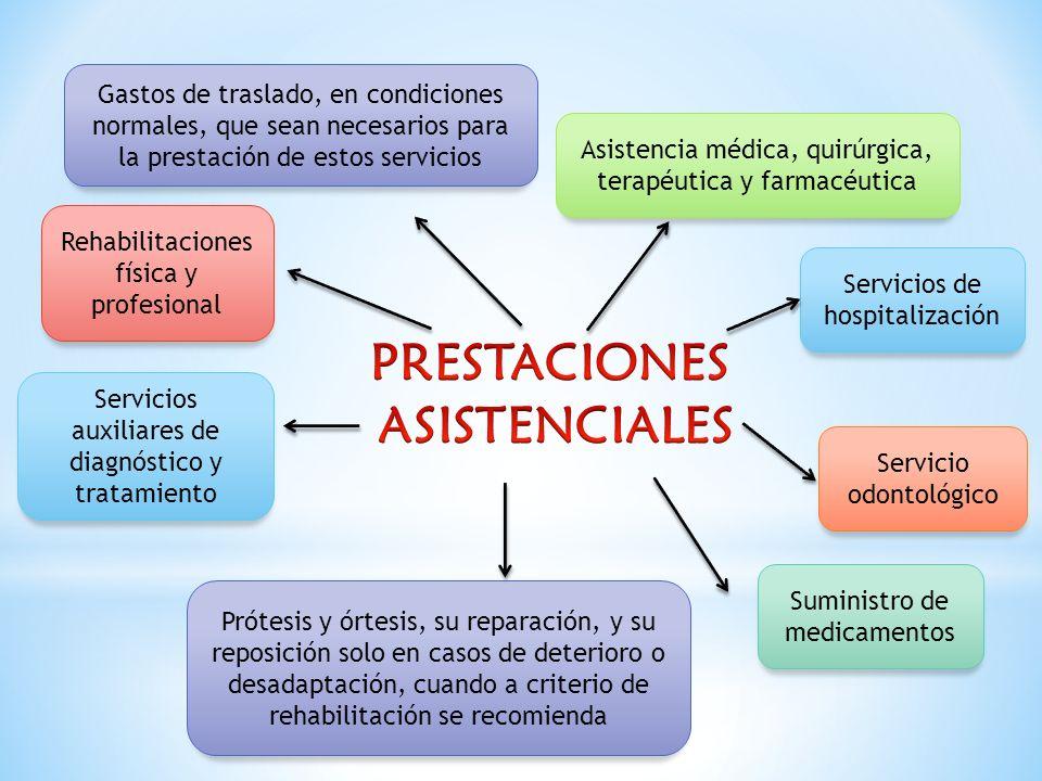PRESTACIONES ASISTENCIALES