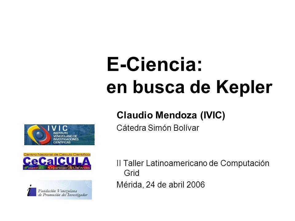 E-Ciencia: en busca de Kepler