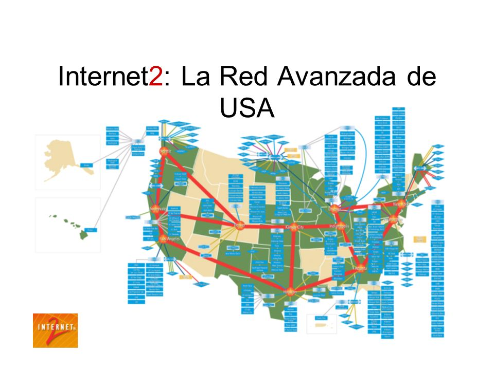 Internet2: La Red Avanzada de USA