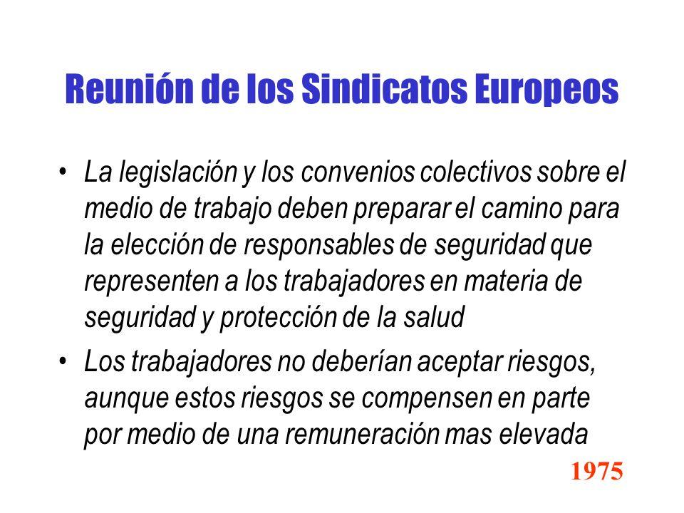 Reunión de los Sindicatos Europeos
