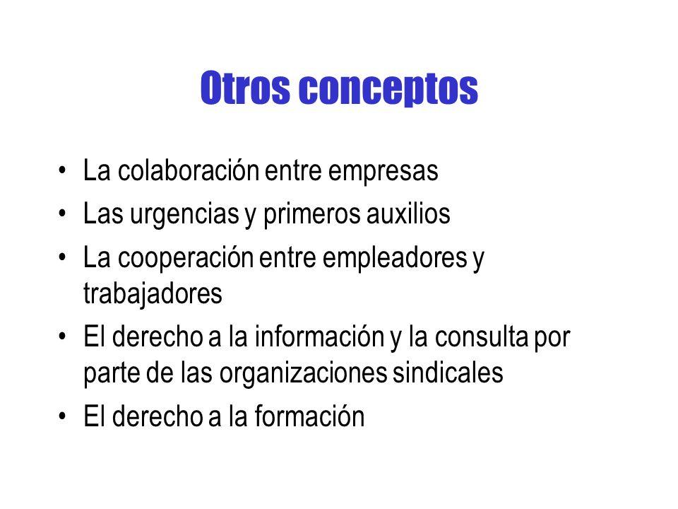 Otros conceptos La colaboración entre empresas