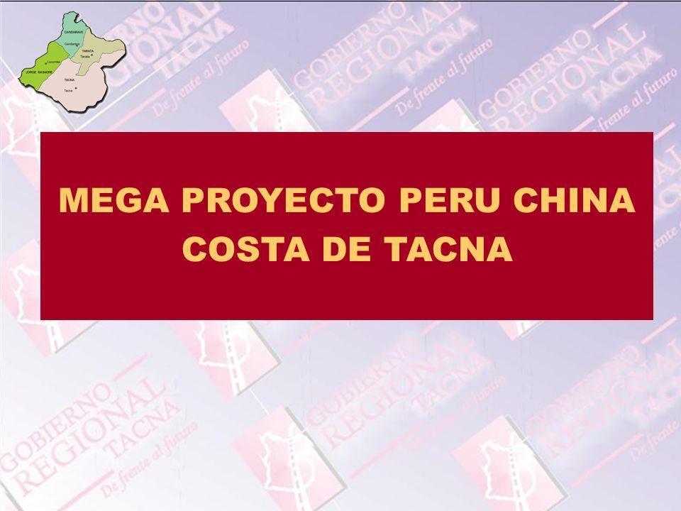 MEGA PROYECTO PERU CHINA