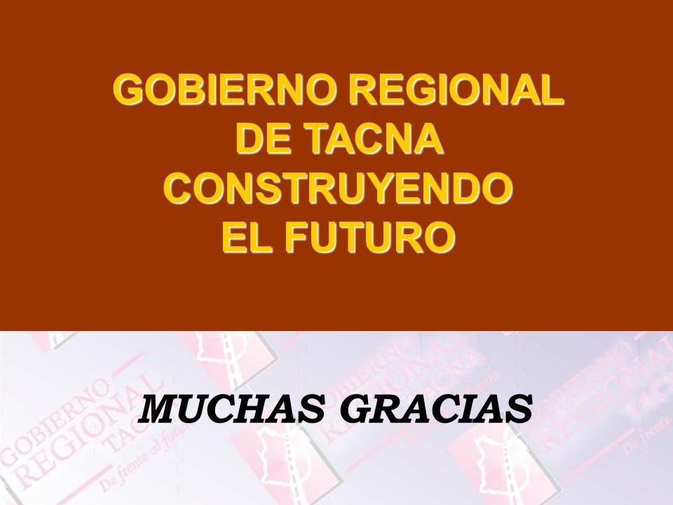 GOBIERNO REGIONAL DE TACNA CONSTRUYENDO