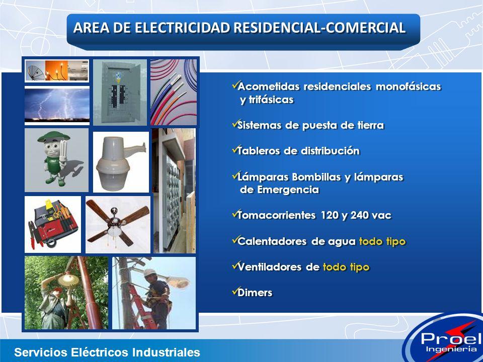 AREA DE ELECTRICIDAD RESIDENCIAL-COMERCIAL