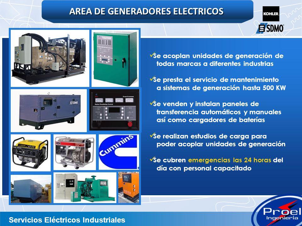 AREA DE GENERADORES ELECTRICOS