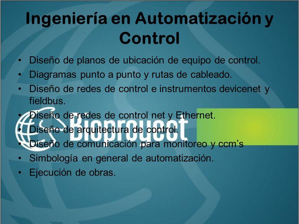 Ingeniería en Automatización y Control