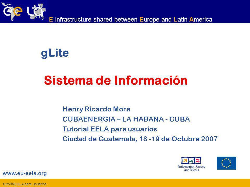 gLite Sistema de Información