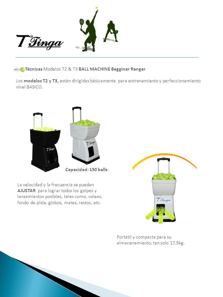 Técnicas Modelos T2 & T3 BALL MACHINE Begginer Ranger