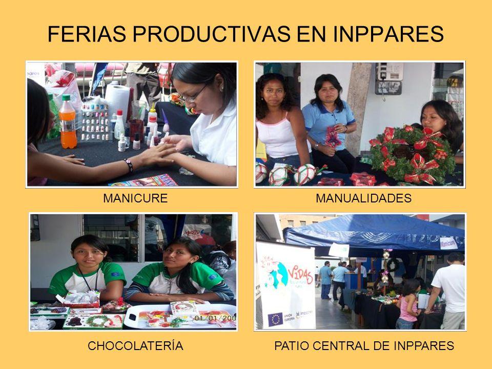FERIAS PRODUCTIVAS EN INPPARES