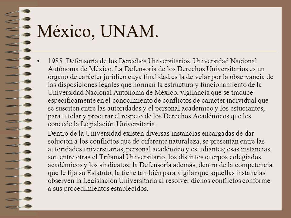México, UNAM.