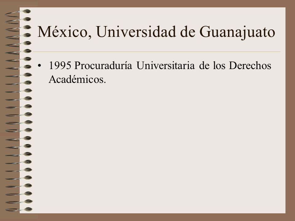 México, Universidad de Guanajuato