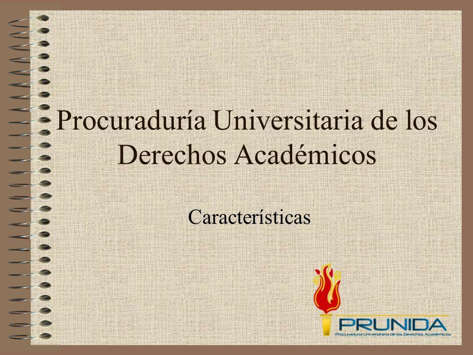 Procuraduría Universitaria de los Derechos Académicos