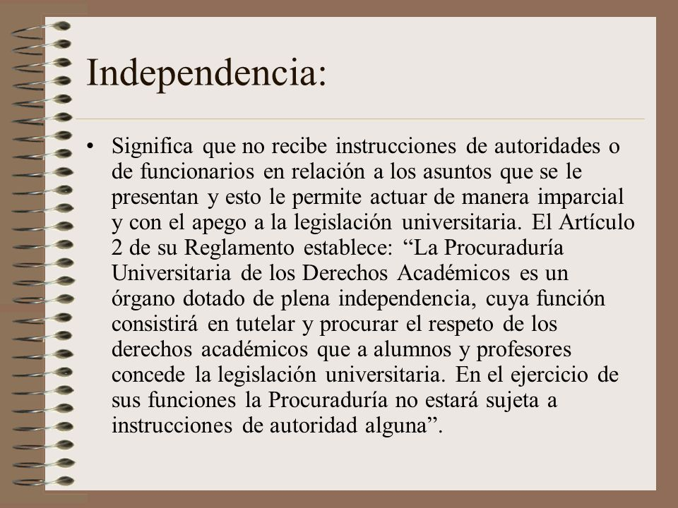 Independencia: