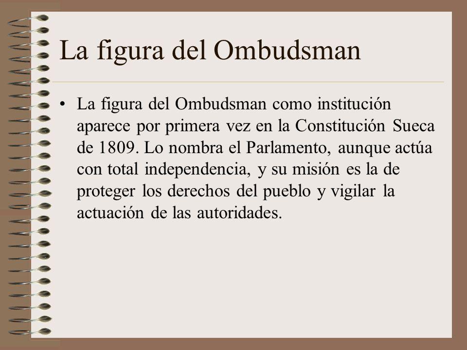 La figura del Ombudsman