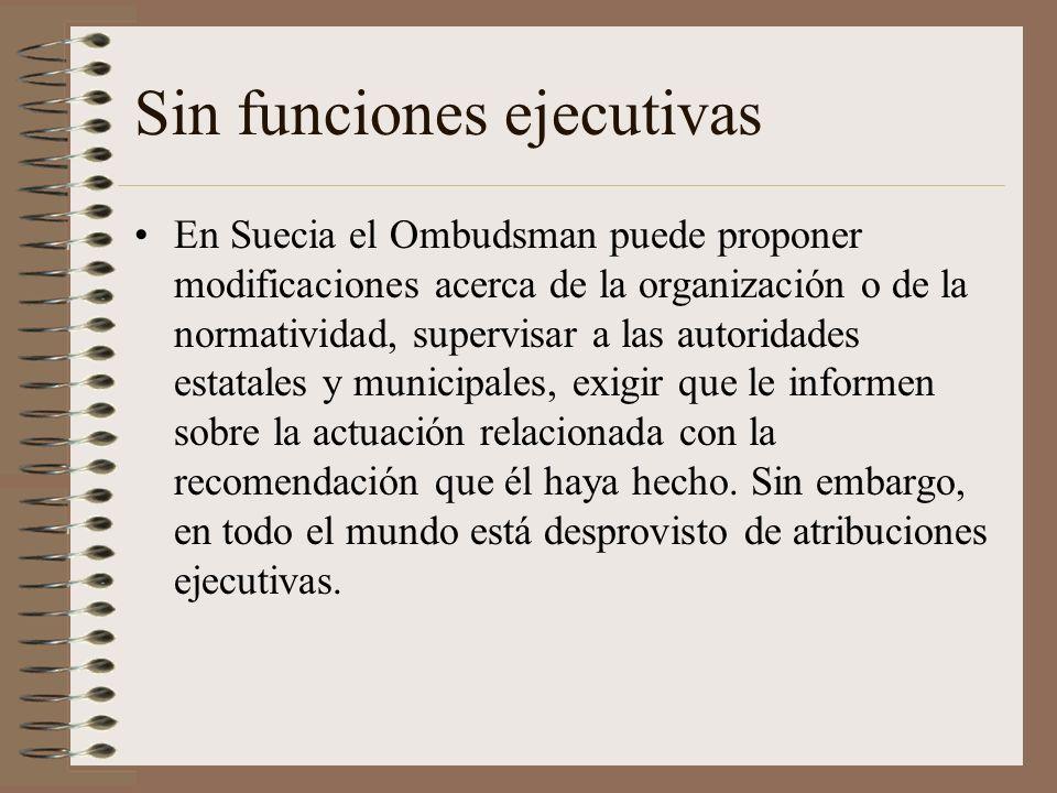 Sin funciones ejecutivas
