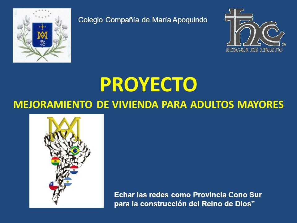 PROYECTO MEJORAMIENTO DE VIVIENDA PARA ADULTOS MAYORES