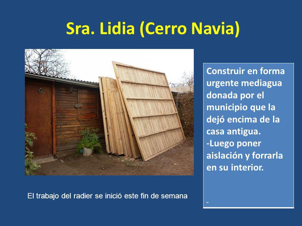 Sra. Lidia (Cerro Navia)