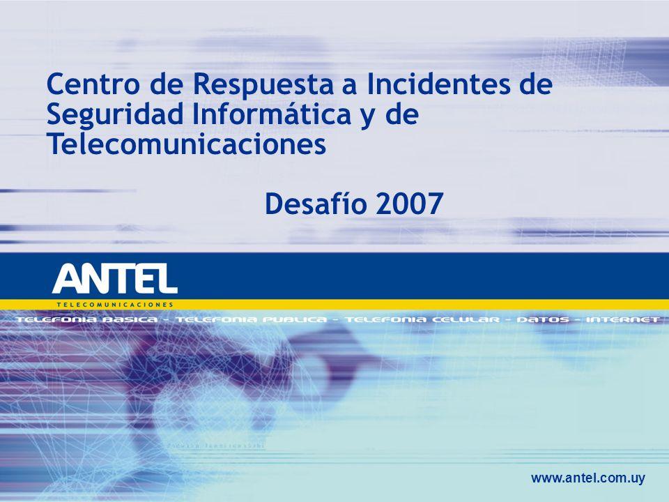 Centro de Respuesta a Incidentes de Seguridad Informática y de