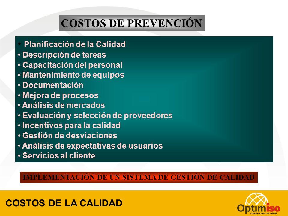 IMPLEMENTACIÓN DE UN SISTEMA DE GESTIÓN DE CALIDAD