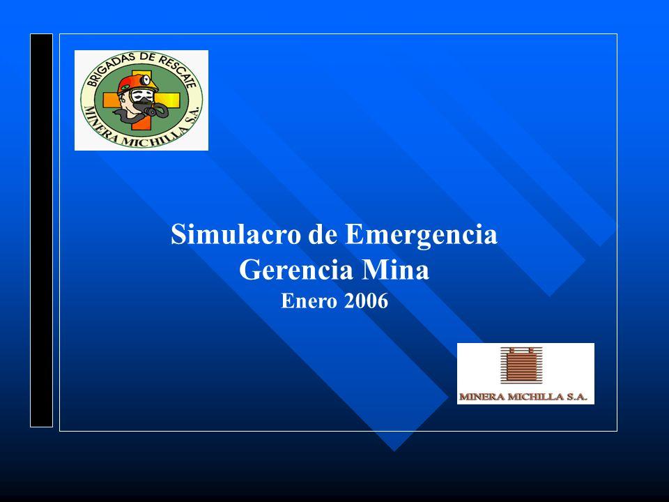 Simulacro de Emergencia