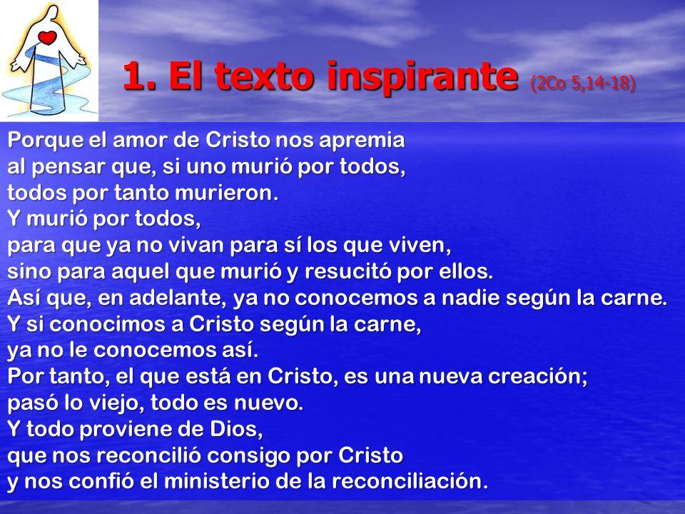 1. El texto inspirante (2Co 5,14-18)