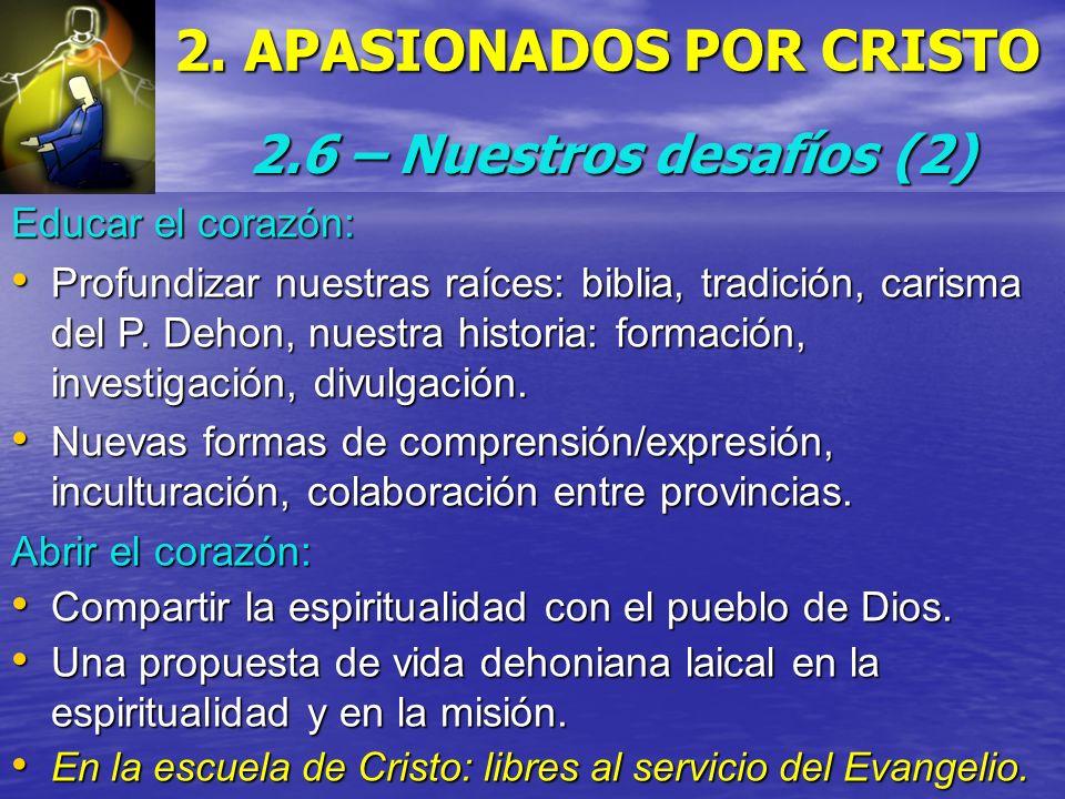 2. APASIONADOS POR CRISTO