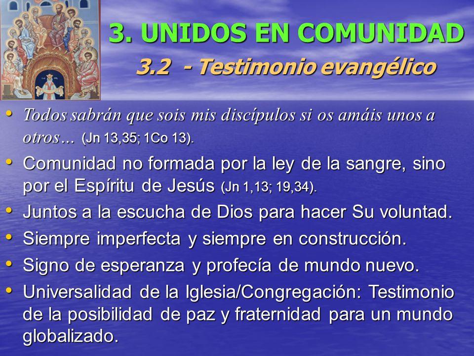 3.2 - Testimonio evangélico