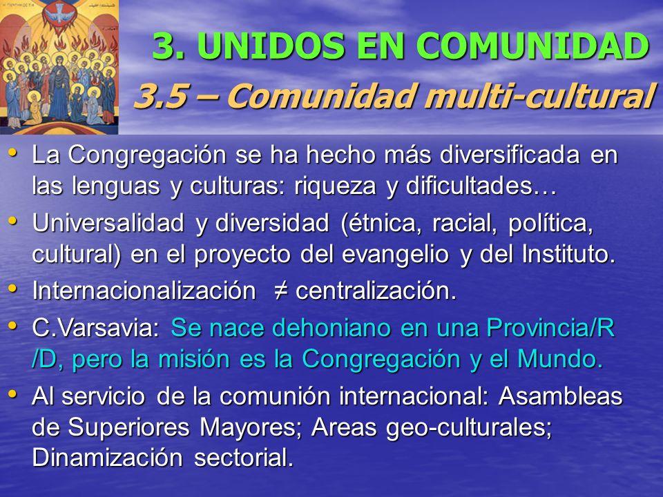 3.5 – Comunidad multi-cultural