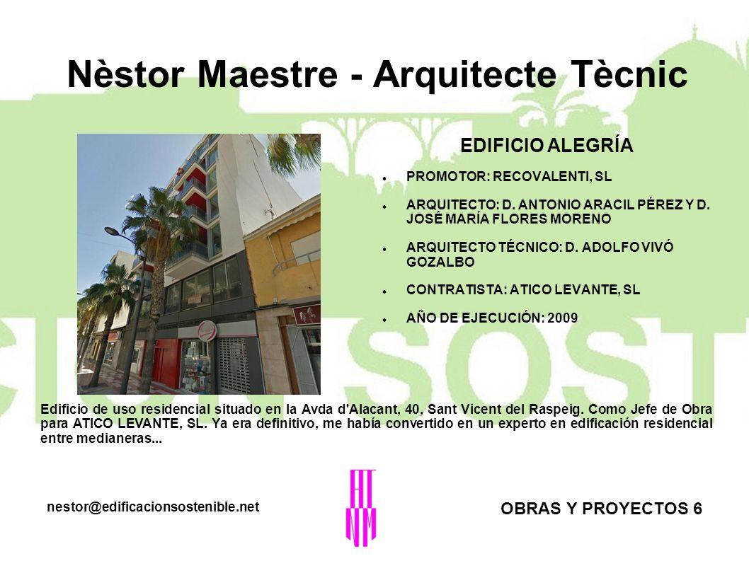 Nèstor Maestre - Arquitecte Tècnic